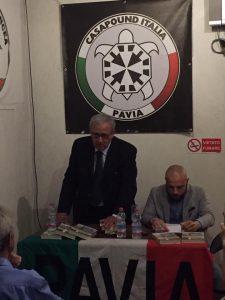 """[Podcast]  """"Con Mussolini Prima e dopo Piazzale Loreto"""", CasaPound Pavia"""