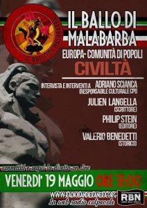 Podcast – IL BALLO DI MALABARBA Europa, comunità di popoli, civiltà pt2