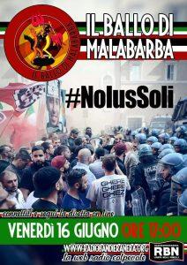 Podcast – IL BALLO DI MALABARBA, NoIusSoli, puntata del 16 maggio 2017