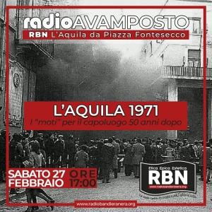 Radio Avamposto – Aquila 1971