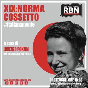 Italianamente – Norma Cossetto