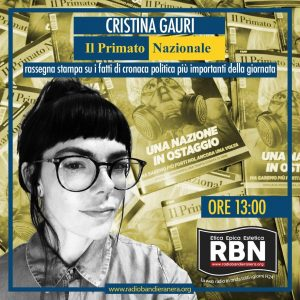 Il Primato Quotidiano – Cristina Gauri