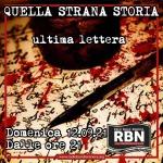 Quella strana storia - ultima lettera
