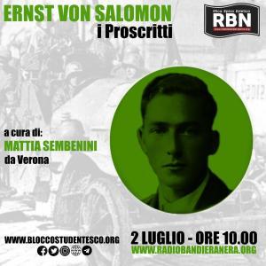 Blocco Studentesco Milano – Ernst Von Salomon