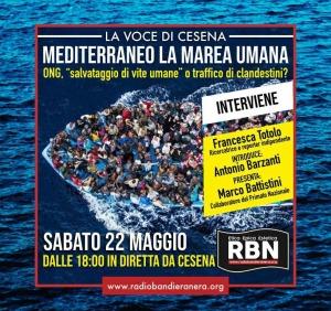 Mediterraneo, la Marea umana – con Francesca Totolo