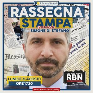 Rassegna Stampa Settimanale Simone Di Stefano